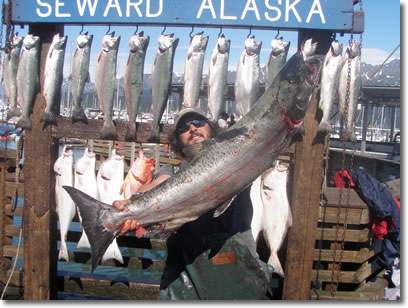 We can build any combo fishing sightseeing trip for your Alaska fishing trip